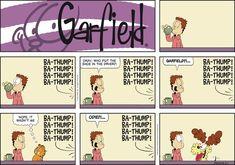 Garfield by Jim Davis for Sun 01 Mar 2020 Garfield Comics, Family Circus Cartoon, Brave Little Toaster, Doom 1, Hagar The Horrible, Jim Davis, Fan Theories, The Big Lebowski, Chuck Norris