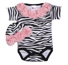 Pink Zebra Rose Gift Set