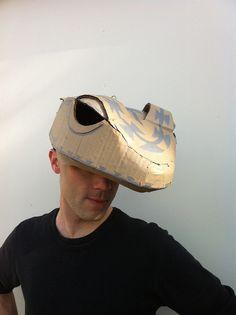 Using Chumash basket designs for decoration Cardboard Costume, Cardboard Mask, Diy Costumes, Halloween Costumes, Theatre Costumes, Book Costumes, Lizard Costume, Komodo Dragon, Animal Masks