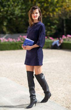 Street Style Paris Fashion Week Spring 2014 Hanneli Mustaparta