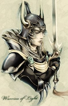 Tags: Anime, Square Enix, Warrior Of Light, Final Fantasy I, S-ta