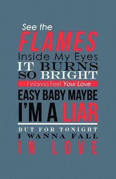 """different version of my ed sheeran """"I'm A Mess"""" lyrics design- April MacDonald"""