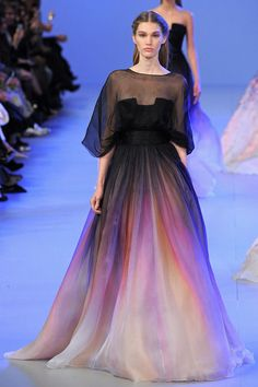 Disney Princess Couture Gowns - The Elie Saab Spring 2014 Couture Collection Showed in Paris (GALLERY)
