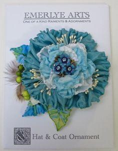 Cynthia Emerlye, Vermont artist and kirigami papercutter: Ribbonwork Adornments - Cool & Warm