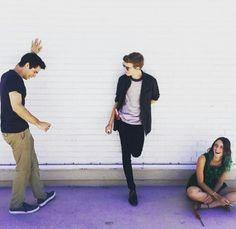 Dylan, Thomas and Kaya..