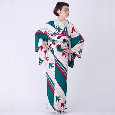 【受注生産/お届けまで約2ヶ月】飛翔シリーズ 「飛行機」小紋着尺袖 - モダンな着物と帯ならモダンアンテナ。着物や帯の通販サイト。
