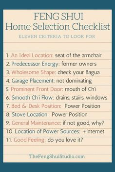 Know how to discern good energy in your next home search and choose a good Feng Shui home. These Feng Shui tips will help you find your Feng Shui home. Feng Shui Basics, Feng Shui Principles, Feng Shui Tips, Feng Shui 2019, Feng Shui Habitacion, Feng Shui Layout, Feng Shui Studio, Feng Shui History, Feng Shui Energy