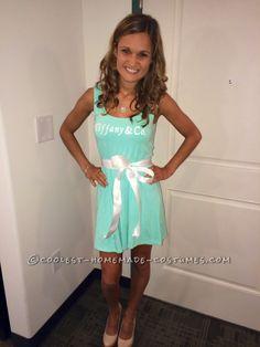 Tiffany & Co. Halloween Costume-Little Blue Box