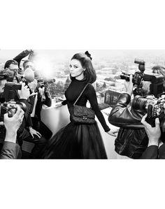 Mila Kunis fotografada por Mario Sorrenti para Miss Dior