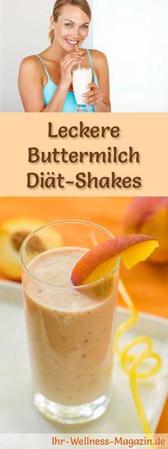 Buttermilch-Diätshakes: Entdecken Sie 25 Shake-Rezepte mit Buttermilch, mit denen es geradezu ein Genuss ist, den überflüssigen Pfunden den Kampf anzusagen ...