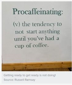 Procrastivity (a.k.a. Sneaky Avoidance) and Adult ADHD Coping | Psychology Today Adhd Humor, Adhd Funny, Problem Set, American Psychological Association, Adult Adhd, Urban Dictionary, Psychology Today, Coffee Coffee, Lessons Learned