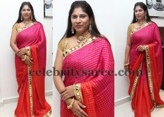 swetha-reddy-mirror-work-saree.jpg (600×429)