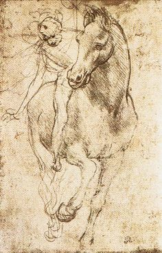 Da Vinci 15th to 16th century drawings, studies - all of them.