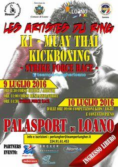 Evento open di sport da combattimento. 9-10 luglio 2016 a Loano (Sv)