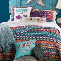 Cowboy Loves Cowgirl Bedding Collection
