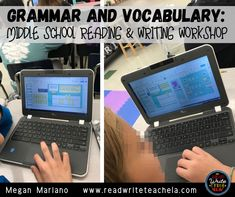 Many teachers who embark into the world of Reading and Writing Workshop beg to question: how do you get in vocabulary and grammar instruction? There are lots of different ways to approach this, but with limited time, we want to make sure it's meaningful.