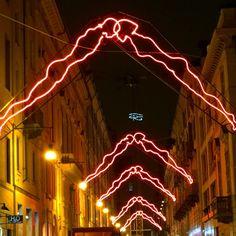 Luci d'artista a #Torino