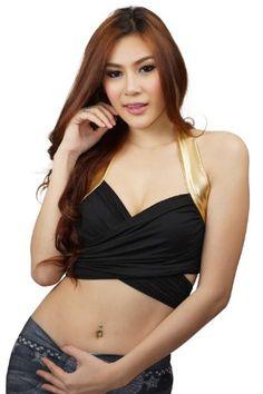 CWG Women's Halterneck Wrap Clubwear Top (Small, Black) clubwearguru http://www.amazon.com/dp/B00GSSK080/ref=cm_sw_r_pi_dp_x5rNvb0N3D277