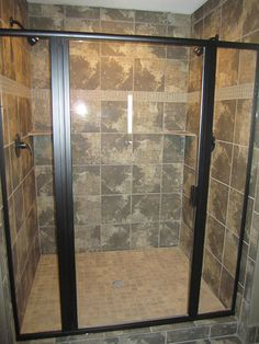 view framed glass shower door projects installed by precision glass in kansas city choose from any framed shower door design you see here and call today