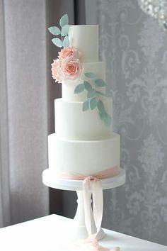 Plain Wedding Cakes, Grace Moore, Wedding Things, Dream Wedding, Cake Gallery, Wedding Cake Inspiration, Cake Ideas, Cake Toppers, Wedding Flowers