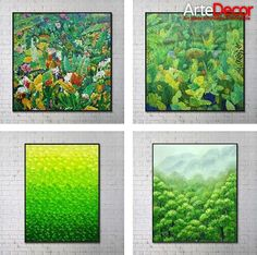 #Green is the color of nature which brings in good health, money and tranquility!  Bring home the feel of nature with these stunning unique natural designs that will take you close to the beauty of #nature.