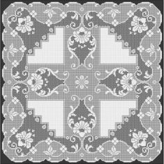 Filet Crochet Pattern