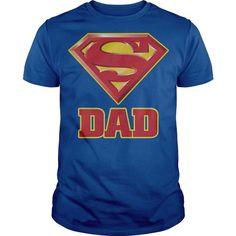 Superman Super Dad T Shirts, Hoodies, Sweatshirts. CHECK PRICE ==► https://www.sunfrog.com/Geek-Tech/Superman-Super-Dad.html?41382