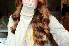 wavy hair.♡