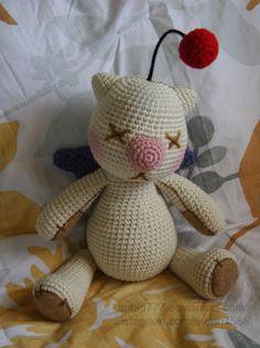 Image result for crochet moogle