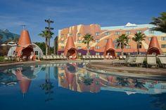 The Pools at Walt Disney World are so magical!  #disneyresort #disneypool