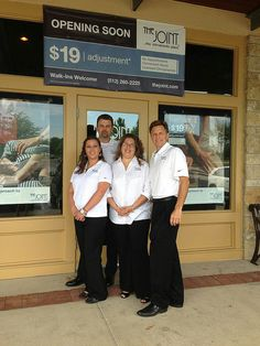 The Joint Cedar Park Staff http://chiropractoraustin-thejoint.com/introductory-offer/?utm_source=Pinterest.com