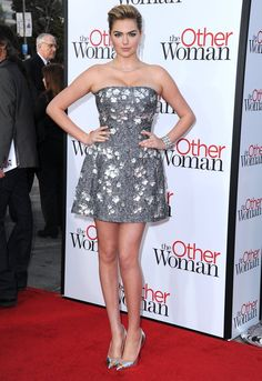 Pin for Later: Michelle Williams's Dress Is Just One of Her Job's Many Perks Kate Upton Kate Upton at the LA premiere of The Other Woman.