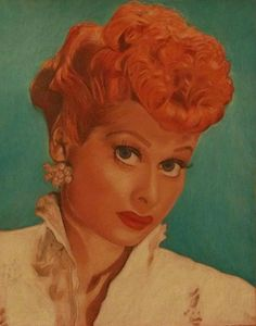 Custom portraits done in colored pencil of any animal or person of your choice. Price-$50.00 Sample drawing is of Lucille Ball. :)