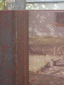 inset perf in negative spaces Front Gates, Front Fence, Entrance Gates, Fence Gate, Steel Gate, Steel Fence, Garden Screening, Fence Design, Garden Design