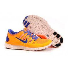 finest selection cfee8 86371 Nike Free 5.0+ Damesko Oransje Blå   Nike sko tilbud   billige Nike sko på  nett   Nike sko nettbutikk norge   ovostore.com