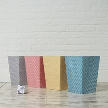 There's nothing boring about our bins they will easily brighten up a corner of your workspace or home. All our beautiful handmade stationery and storage products are produced in an eco-friendly way, from 100% recycled materials.