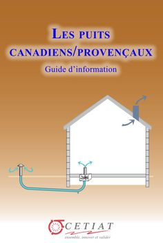 Canadian Well and Provencal Well Its Principle - For my House - Geothermal Energy Indoor Greenhouse, Greenhouse Gardening, Geothermal Energy, Passive Solar, Eco Friendly House, Prefab Homes, Solar Energy, Education, House Styles