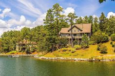 CLICK2TOUR this impressive 6BR/6BA custom designed lake home in The Preserve at Stoney Ridge. Impressive finishes & features throughout, and views are spectacular! Year-round DEEP water, floating pier, 310'WF, 3 stone fireplaces, 2 living areas...MUST SEE! For more details call/text, Virginia Pettus, 334-549-3933, Aronov Lake Martin Realty. Photos & tour by Sherry Watkins…I Shoot Houses…http://www.Go2REassistant.com/VirtualTours.htm