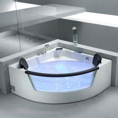 Details Zu Whirlpool Badewanne Eckbadewanne Whirlpool Indoor ... Whirlpool Badewanne Designs Jacuzzi