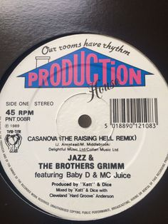 Jazz & The Brothers Grimm - Casanova