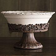 Forét Pedestal Bowl and Stand by Chris Madden