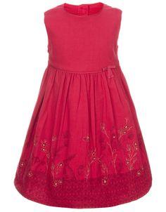 My Design Baby Filagree Dandelion Dress | Silver | Monsoon