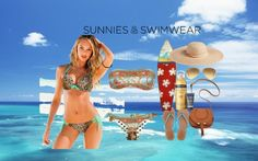 """Sunnies & Swimwear"" by sekars on Polyvore"