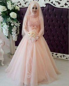 -font-b-Muslim-b-font-Pink-font-b-Wedding-b-font-font-b-Dress-b.jpg (850×1052)