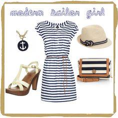 Modern Sailor Girl