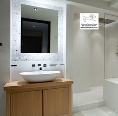 Teak vanity unit with cupboards