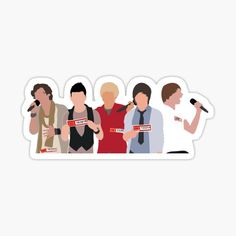 One Direction Collage, One Direction Lockscreen, One Direction Drawings, One Direction Images, One Direction Wallpaper, One Direction Humor, Bubble Stickers, Cool Stickers, Printable Stickers