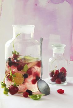 Summer Berry & Lime Punch