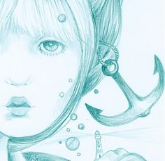 ajsha / Rybárka Sketches, Anime, Art, Art Background, Kunst, Draw, Anime Music, Performing Arts, Doodles