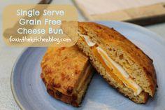 Recipe: Single Serve Grain Free Cheese Bun :: Easy Like A Sunday Morning | Fox in the Kitchen